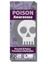 DPIC Poison Awareness pamphlet